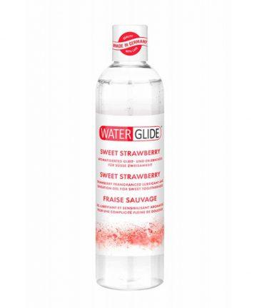 Лубрикант с вкус на сладка ягода - Waterglide Sweet Strawberry 300ml
