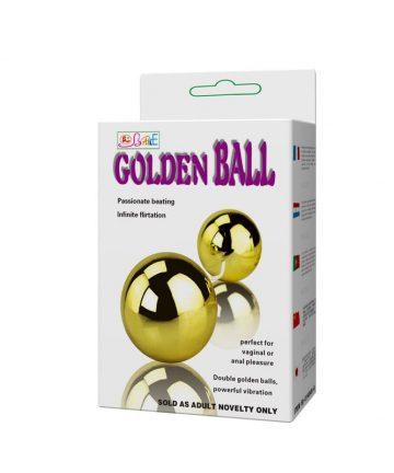 Вибриращи топчета с дистанционно управление - Golden Balls — 4