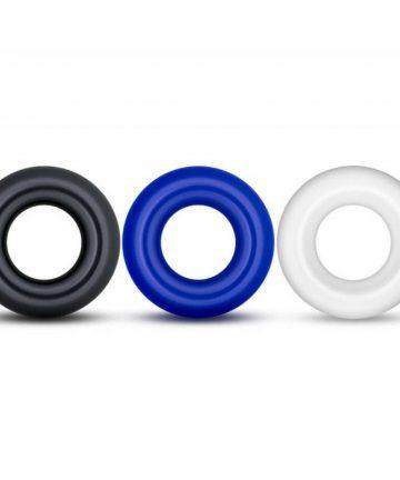 пенис пръстени - X-Basic Donut Rings 3 pack