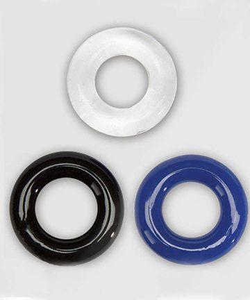 пенис пръстени - X-Basic Donut Rings 3 pack — 2