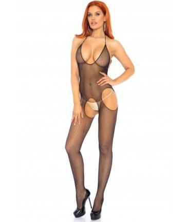 Мрежа за тяло в цял ръст - Suspender Bodystockings — 3