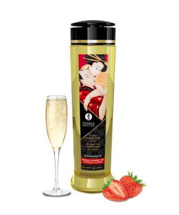 Еротично масажно олио с аромат на ягода – Erotic Massage Oil 240ml