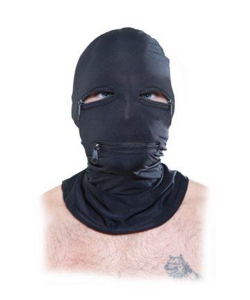 еластична и брутална - Zipper Face Hood