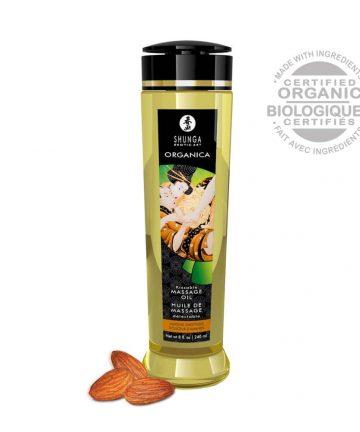 Еротично масажно олио с аромат на сладки бадеми – Erotic Massage Oil 240ml