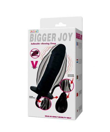 16см. - Bigger Joy Inflatable Penis — 3
