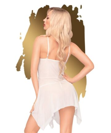 сладка нощница и прашки в бял цвят - Sweet Beast M/L
